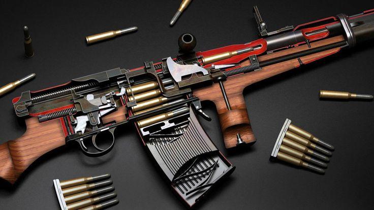 Armas Rifle  Papel de Parede