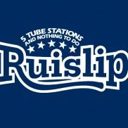 Ruislip - Five Tube Stations And Nothing To Do