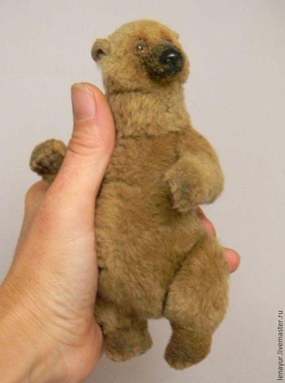 Купить Berta, 15см - авторская ручная работа, авторские мишки Тедди, авторский мишка