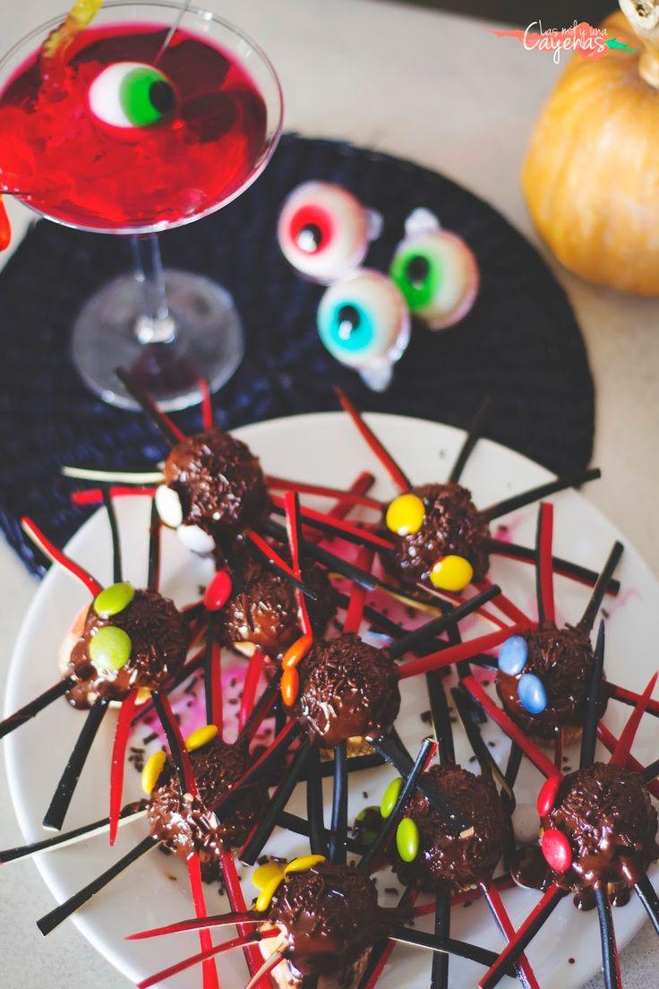 Especial Halloween 2014: Arañas y Cocktail de órganos