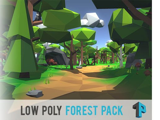 Low Poly Forest Package Unity Asset Store Unreal Engine Unity Games