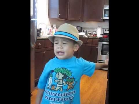 Check out this adorbale child Kai singing Bruno Mars song - Grenade. It killin me how cute e is!!!