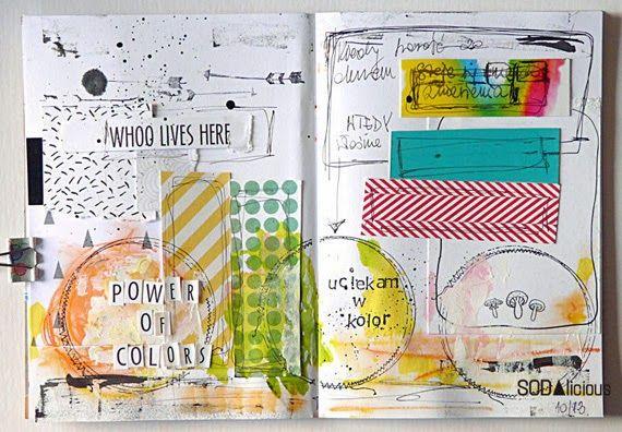 SODAlicious: No40 - art journal - mumkaa?