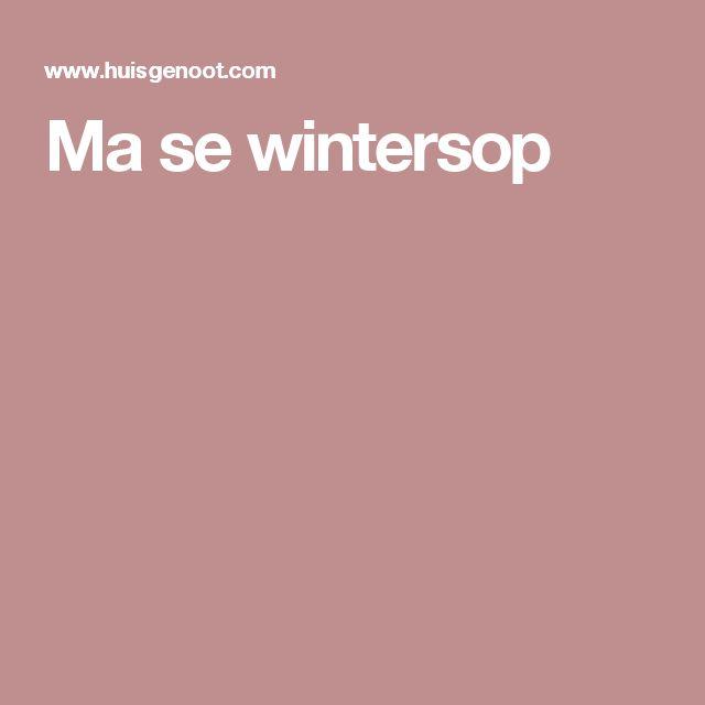 Ma se wintersop