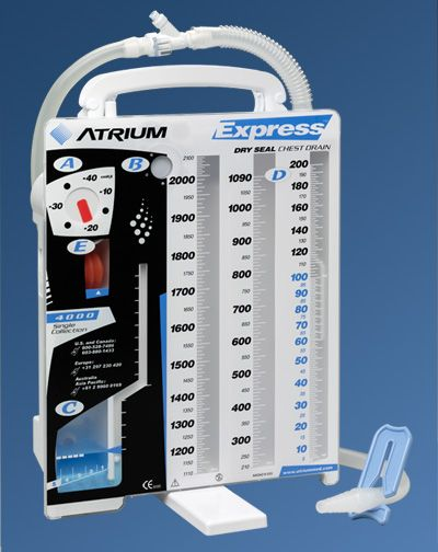 Atrium Medical: Express™ Dry Seal Drain