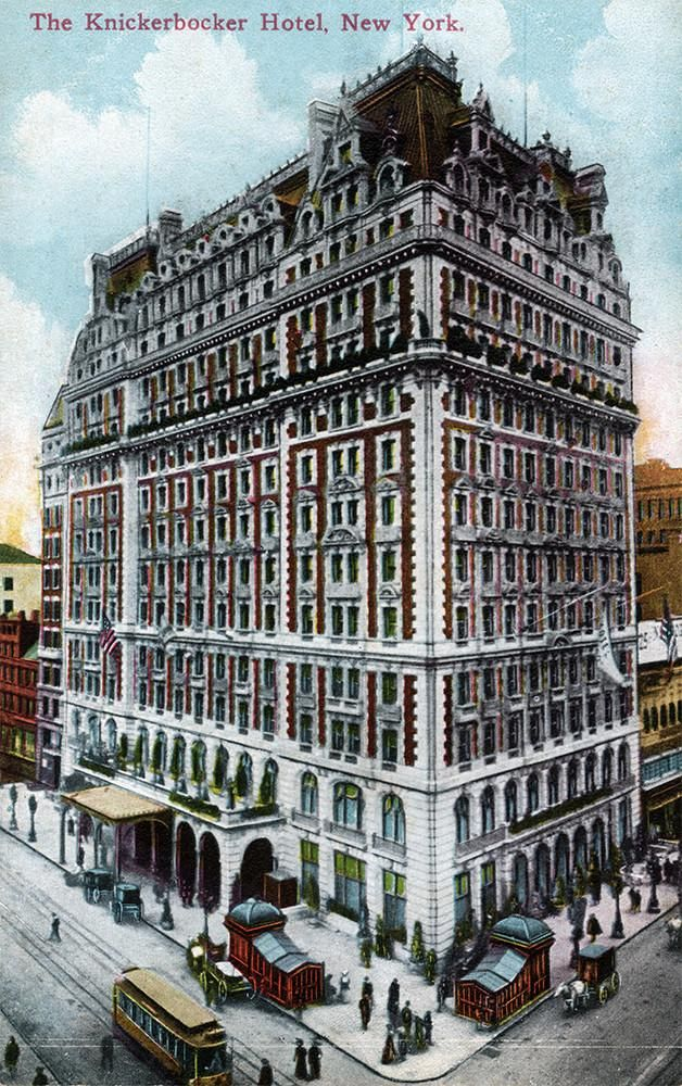 The Knickerbocker Hotel, New York