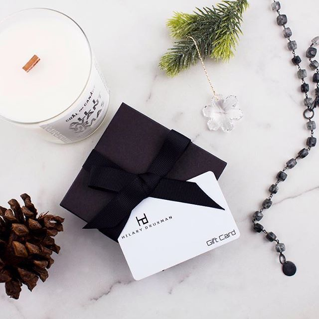 If you cannot decide between HD jewelry, Coal and Canary candles or Swarovski crystal ornaments for a holiday gift- HD gift cards are always a great option! !
