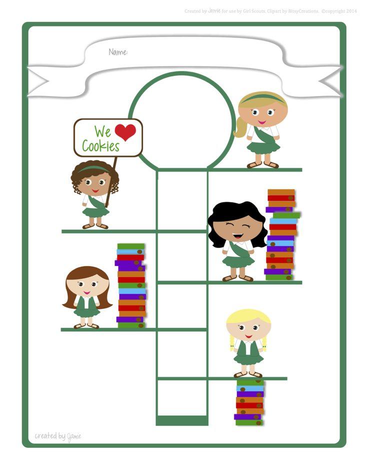 Girl Scouts - Juniors Goal Poster
