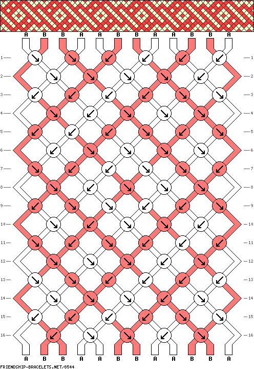12 strings 16 rows 2 colors