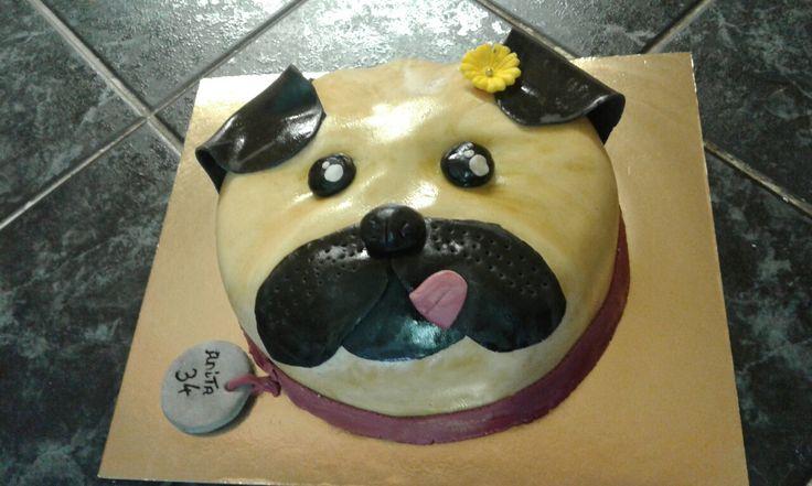 Kis kutyus torta