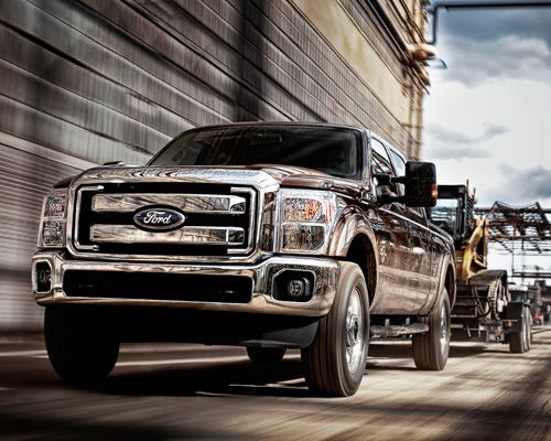 Ford F-250 (FFV)  A warning to consumers: Don't let the flex fuel vehicle (FFV) designation of the Ford F-250 cause confusion; this full-sized pickup truck is anything but eco-friendly. The 6.2L 8-cylinder model also earned a Green Score of 20, thanks in part to the 12/16 city/highway fuel efficiency ratings. Visitors to the official Ford Trucks website won't be able to easily find the fuel efficiency rating for the F-250...