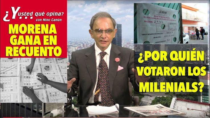 URGENTE!! @lopezobrador_ #MORENA GANA RECUENTO DE VOTOS https://youtu.be/Olt-yh9X428 #PRIANARCOZ @epn @ARISTOTELESSD @LuzMariaChavez1 #GDL #LLDM