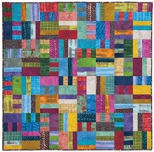 by @Susan Guzman photo compliments McCall's Quick Quilts, quilted by Linda Barrett ...Always using #aurifil threads.
