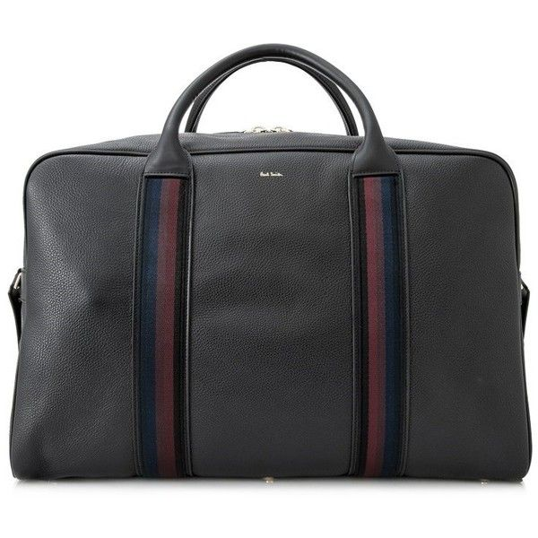 Paul Smith City Holdall (44.595 RUB) ❤ liked on Polyvore featuring men's fashion, men's bags, black, mens holdall bag and paul smith mens bag