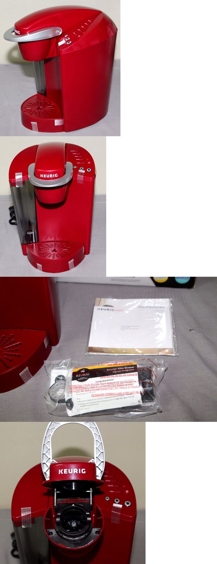 Single Serve Brewers 156775: Keurig K40 Single Serve Coffee Maker Brewing System -> BUY IT NOW ONLY: $49.95 on eBay!