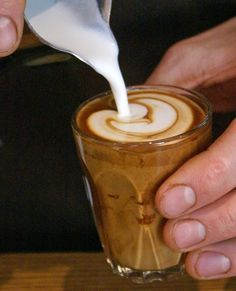Un Cortadito (Cuban Coffee) I wish we had it here! The BEST is in Little Cuba downtown Miami