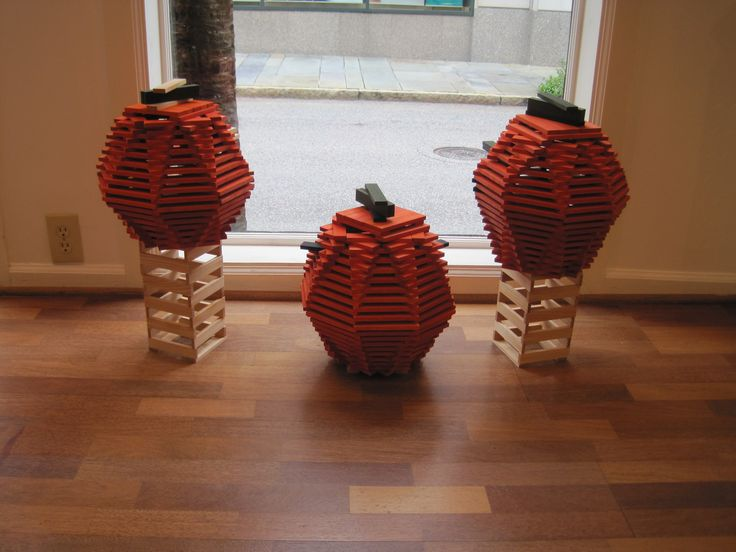 Our KAPLA pumpkins are great to build for any fall holiday.