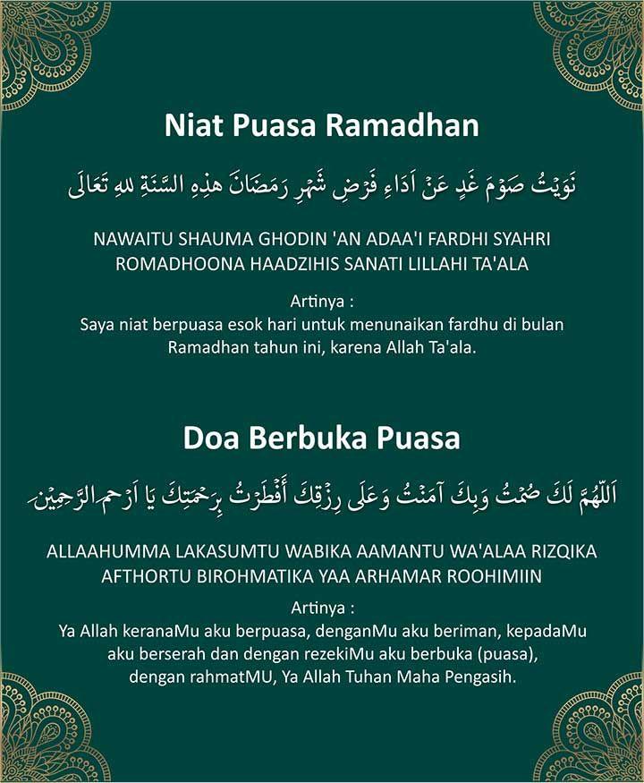 Niat Puasa Ganti Atau Qadha dan Doa Buka Puasa Syawal