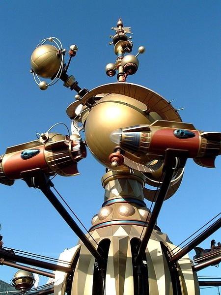Astro Orbiter - Disneyland 2005 , iv been on this before haha