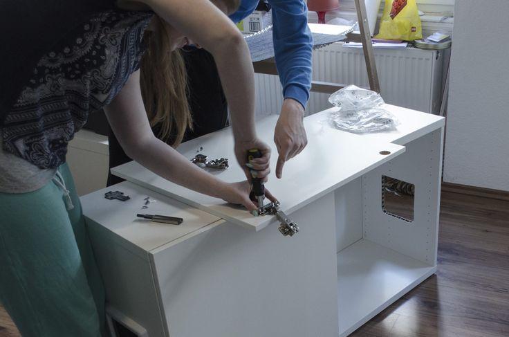 DIY Katzenkloverstecker! Mit dem IKEA Besta Regal das Katzenklo verstecken…