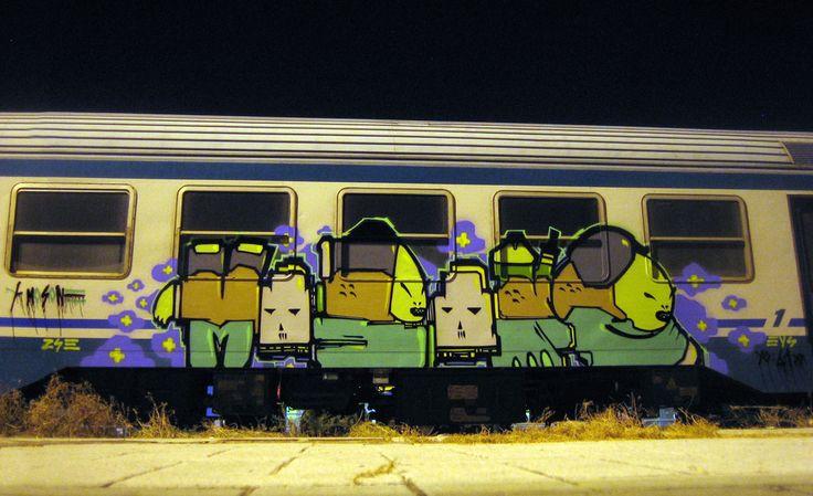 mosone | catania | night | train | italy