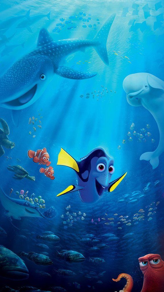 Disney iPhone Wallpapers: Finding Dory
