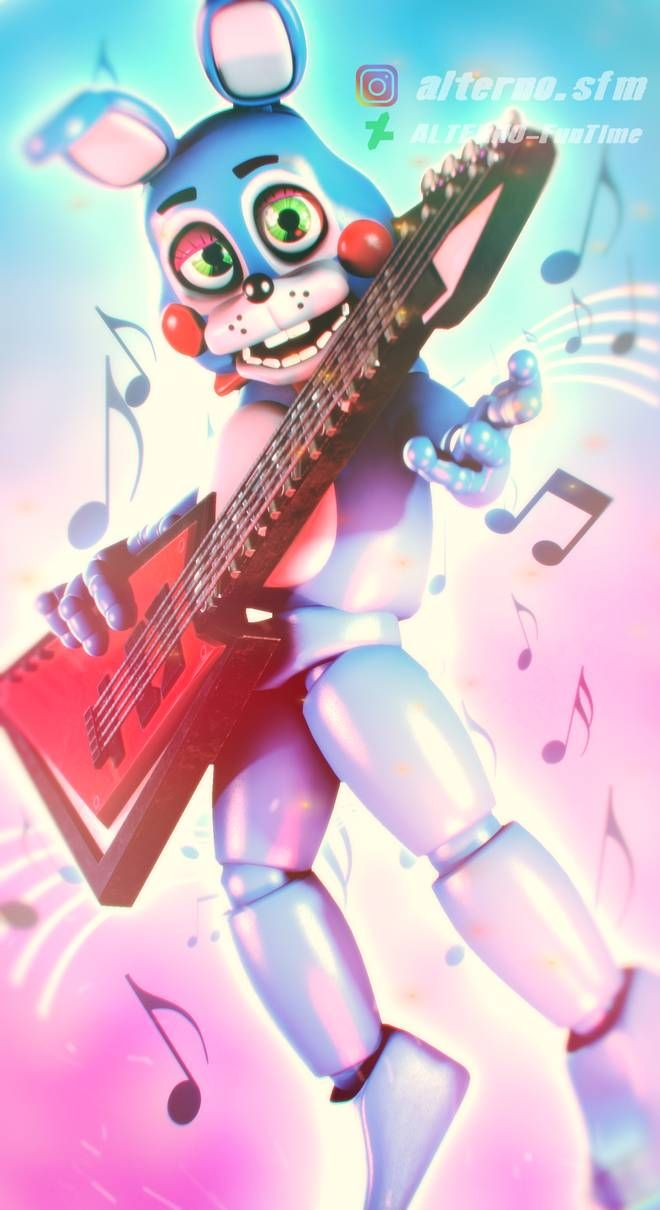 Fnaf Sfm Toy Bonnie By Alterno Funtime On Deviantart Fnaf Anime Fnaf Fnaf Wallpapers