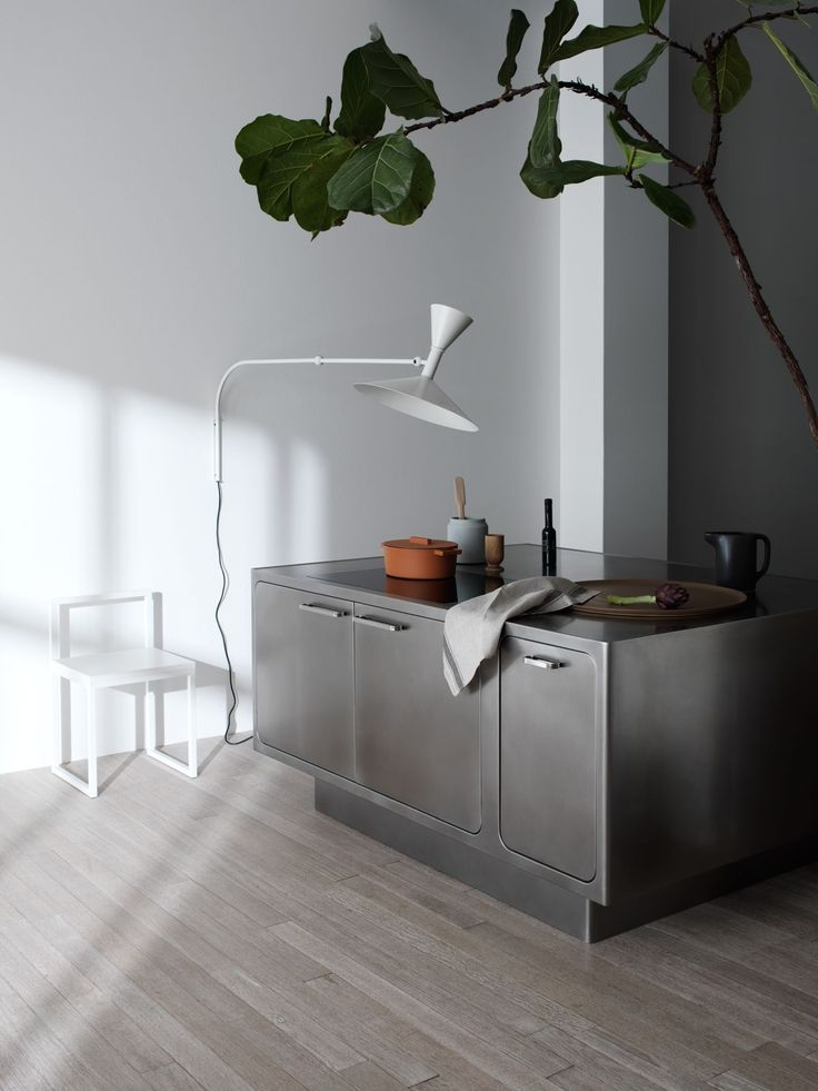 """""""The secret of joy in work is contained in one work: excellence."""" - Pearl S. Buck  Stainless Ego kitchen by Abimis  #Abimis #kitchen #design #mood #archilovers #lovedesign #architecture #inspiration #style #homestyle"""
