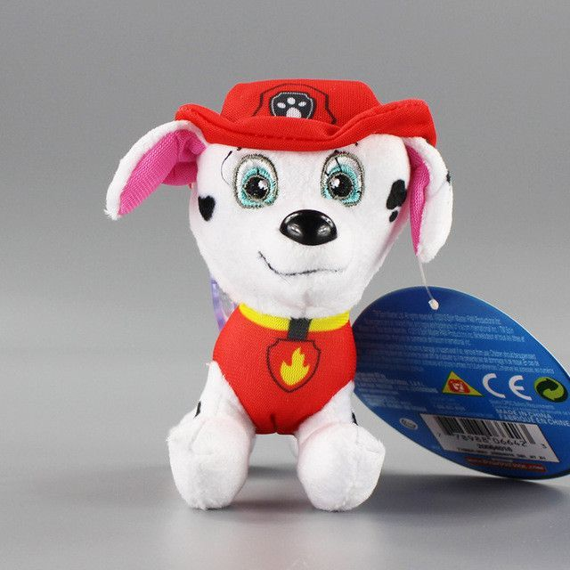 12cm/ 20cm/ 28cm Canine Patrol plush Dog Toys Russian Anime Doll Action Figures Patrol Puppy Toy Patrulla Canina Juguetes