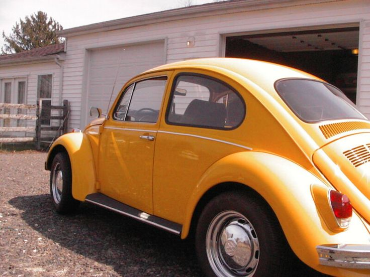👉1968 Volkswagen Beetle  Classic  VW Auto Stick Excellent Conditions NO RESERVE
