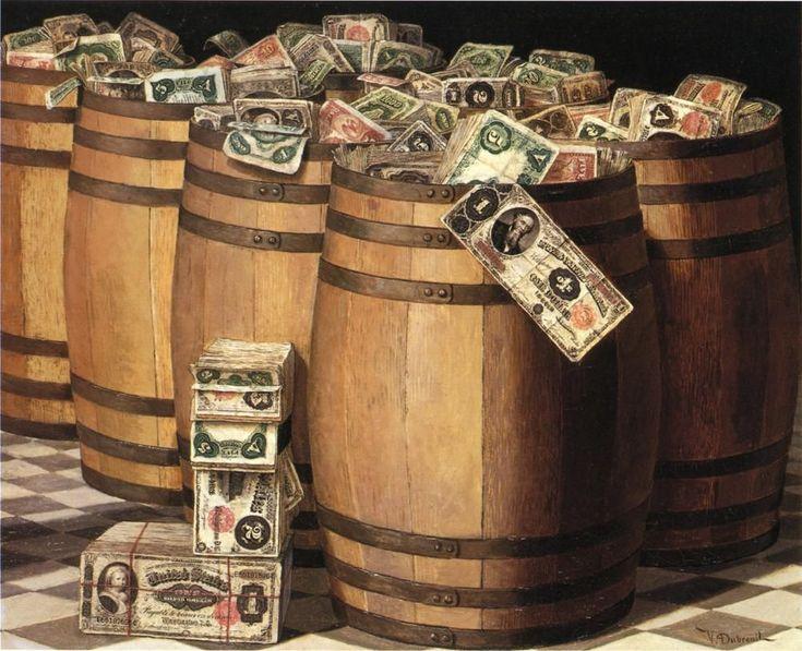 Картинка для декупажа монеты