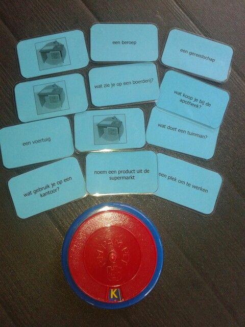 Verschillende Pimpampet kaartjes met onderwerpen uit Taal Actief,  voor zowel groep 4 als 5. Te downloaden van digischool.