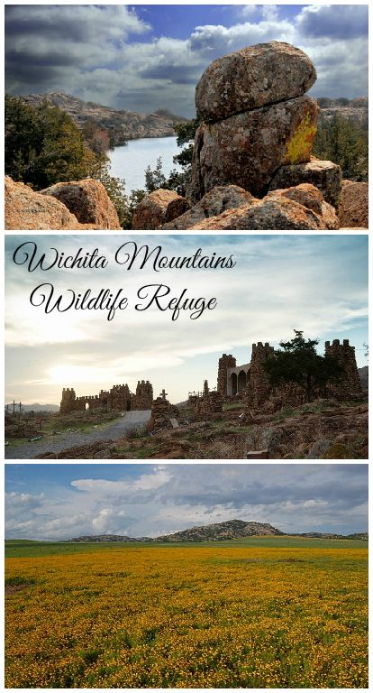 The Wichita Mountains Wildlife Refuge is western Oklahoma is particularly beautiful in the spring. With plenty of places to explore including Mount Scott, the Holy City of the Wichitas and an awesome nature trail system, it is a popular spot for an outdoor adventure.