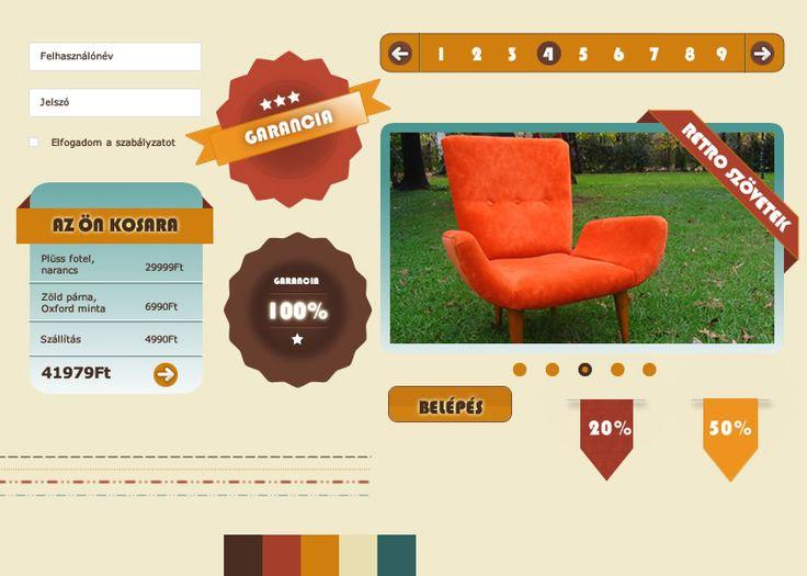 retro webdesign 2015