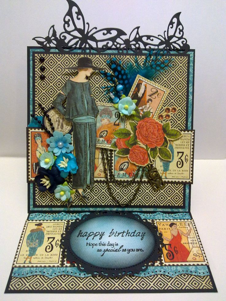 #easelcard using #Couture #Graphic45