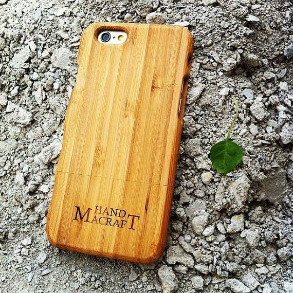 Bamboo Case with GRASP for iPhone 6