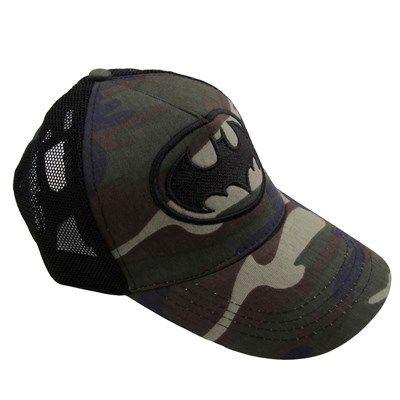 Erkek Batman Kamuflaj Fileli Kep Şapka