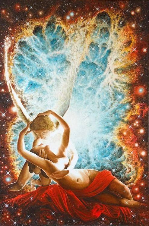 Twin flames burn eternal. Destined to shine bright in a united embrace that is…