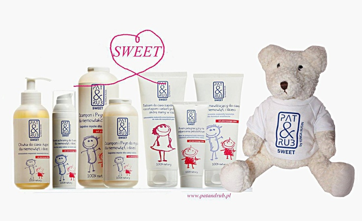 PAT & RUB SWEET cosmetics were especially made for the whole family: babies from their first day of life and adults with sensitive skin. 100% natural & eco-certified ingredients.