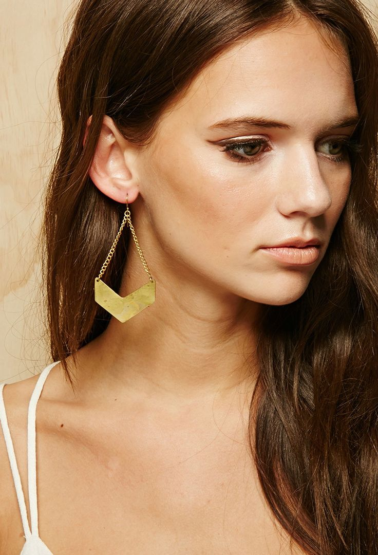 earrings everyday topaz danique jewelry citrine blue small triangle person studs products on
