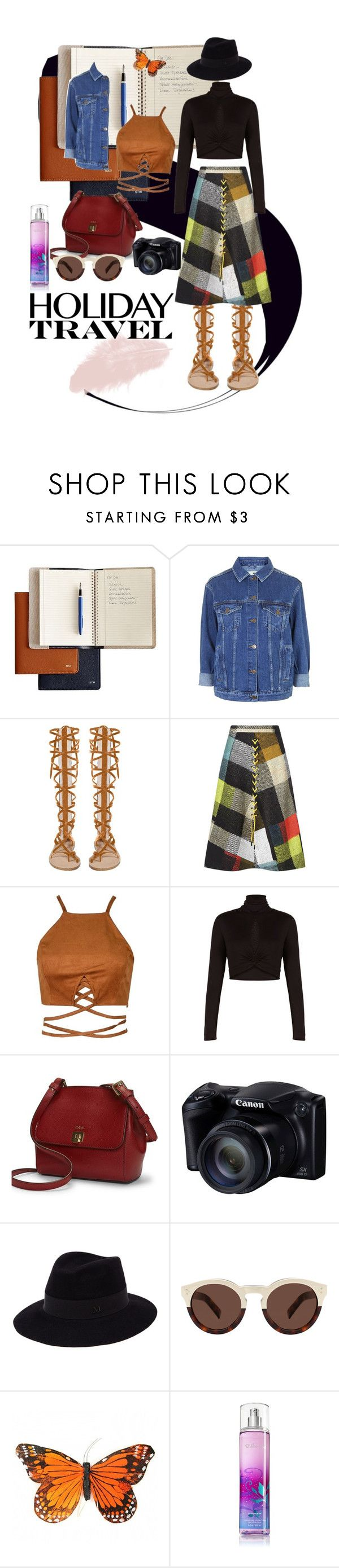 Indie's by stapleluc on Polyvore featuring BCBGMAXAZRIA, Topshop, Preen, Ralph Lauren, Maison Michel and Illesteva