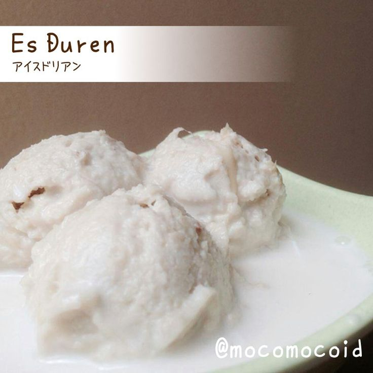 This is Ice Duren You can get it at Jl. Pahlawan No. 30 - Bandung Indonesia