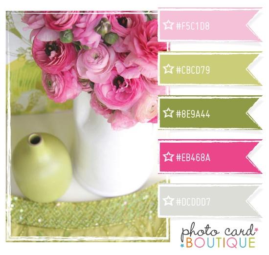 Color Crush Palette · 7.23.2011 - Photo Card Boutique, LLC