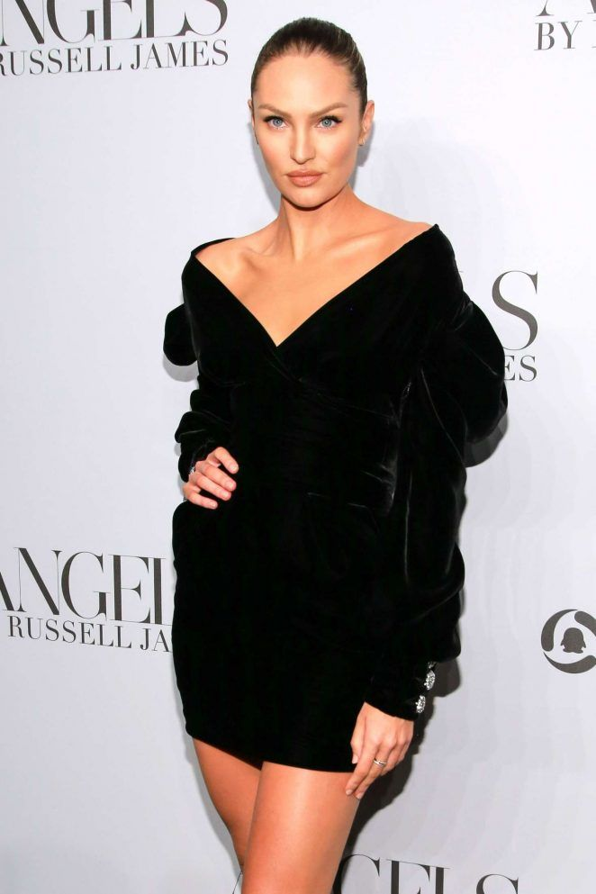 69e23eb7f295b Candice Swanepoel  ANGELS by Russell James Book Launch and Exhibit -10 -  GotCeleb