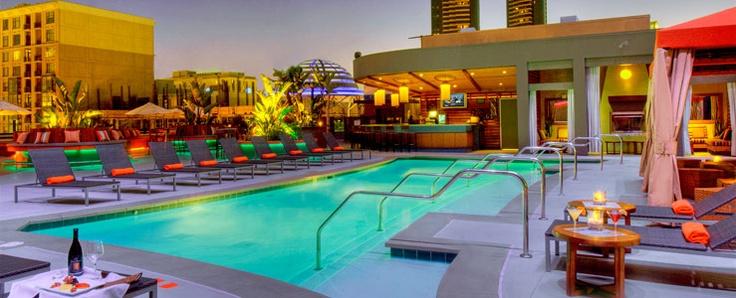 Rooftop Pool, Hotel Solamar San Diego, a Gaslamp District Luxury Hotel in Downtown San Diego