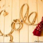 10 decoraciones con el nombre de tu bebe