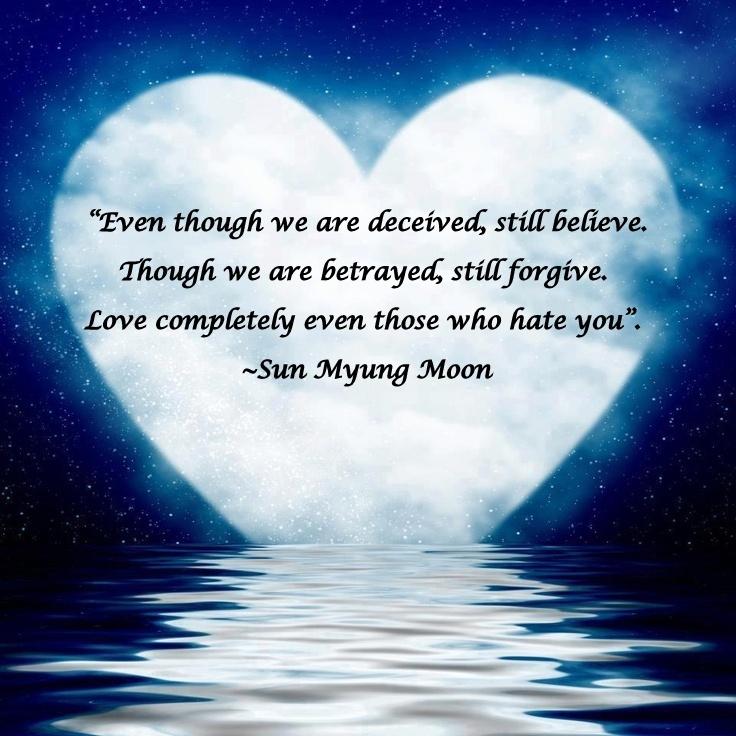 Sun Myung Moon Quote