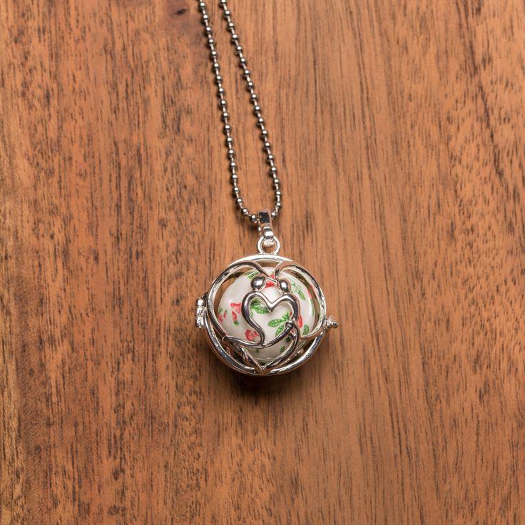 Infinite love Angel caller necklace, harmony ball, llamador de ángeles. Etsy shop https://www.etsy.com/ca/listing/553346167/infinite-love-angel-caller