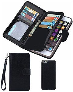 #Black #Friday #Clearance #Sale #Day 2016 For #iPhone 6/6s #Wallet Case,Valentoria #Leather Wallet Case #Magnetic #Detachable Slim #Back #Cover #Card #Holder #Slot Wrist Strap Case (iPhone 6/6s, Black) at:- http://amzn.to/2ghuBdX and #more:- http://www.offers.hub4deals.com/