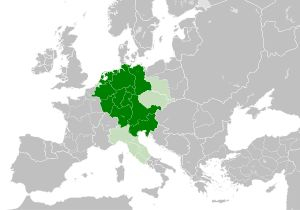 Kingdom of Germany - WikipediaMap of the Kingdom of Germany within the Holy Roman Empire and within Europe circa 1004, after the incorporation of the Duchy of Bohemia